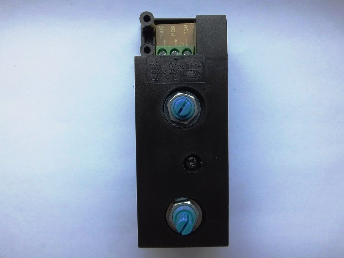 HYTEC HY-3360D DOUBLE ROTARY DIMMER TRANSFORMATEUR