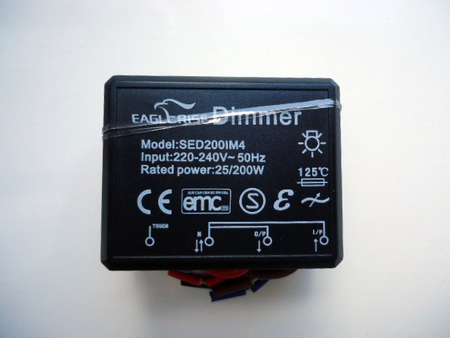 EAGLERISE SED200IM4 TOUCH DIMMER TRANSFORMATEUR (DISCONTINUÉ)