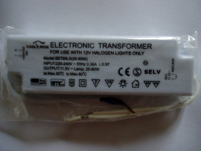 EAGLERISE SET80LS ELECTRONIC TRANSFORMER (DISCONTINUED)