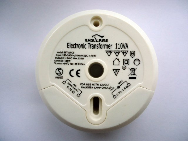 EAGLERISE SET110CS ELECTRONIC TRANSFORMER (DISCONTINUED)
