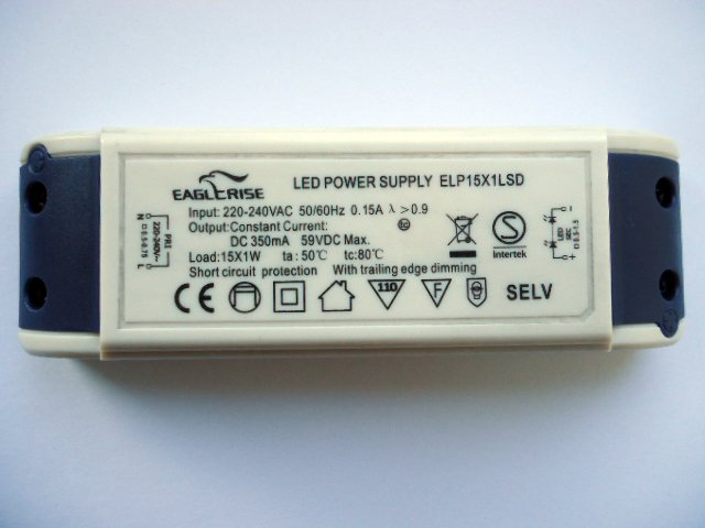 EAGLERISE ELP15X1LSD LED TRANSFORMER