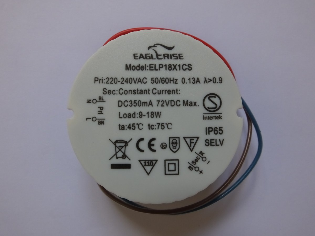 EAGLERISE ELP18X1CS LED DRIVER CONSTANT CURRENT