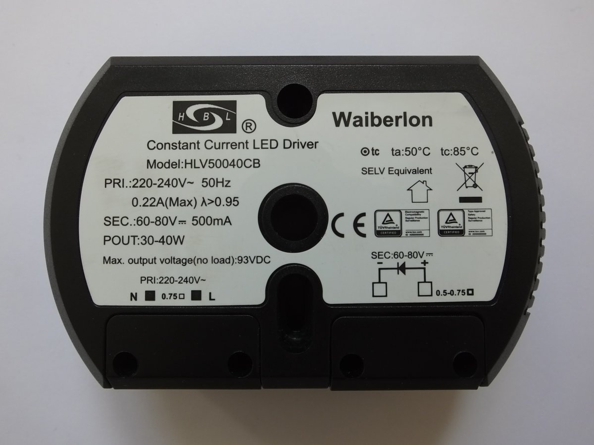 SELF SLT6-350IL-4 24v 6w LED DRIVER COURANT CONSTANT
