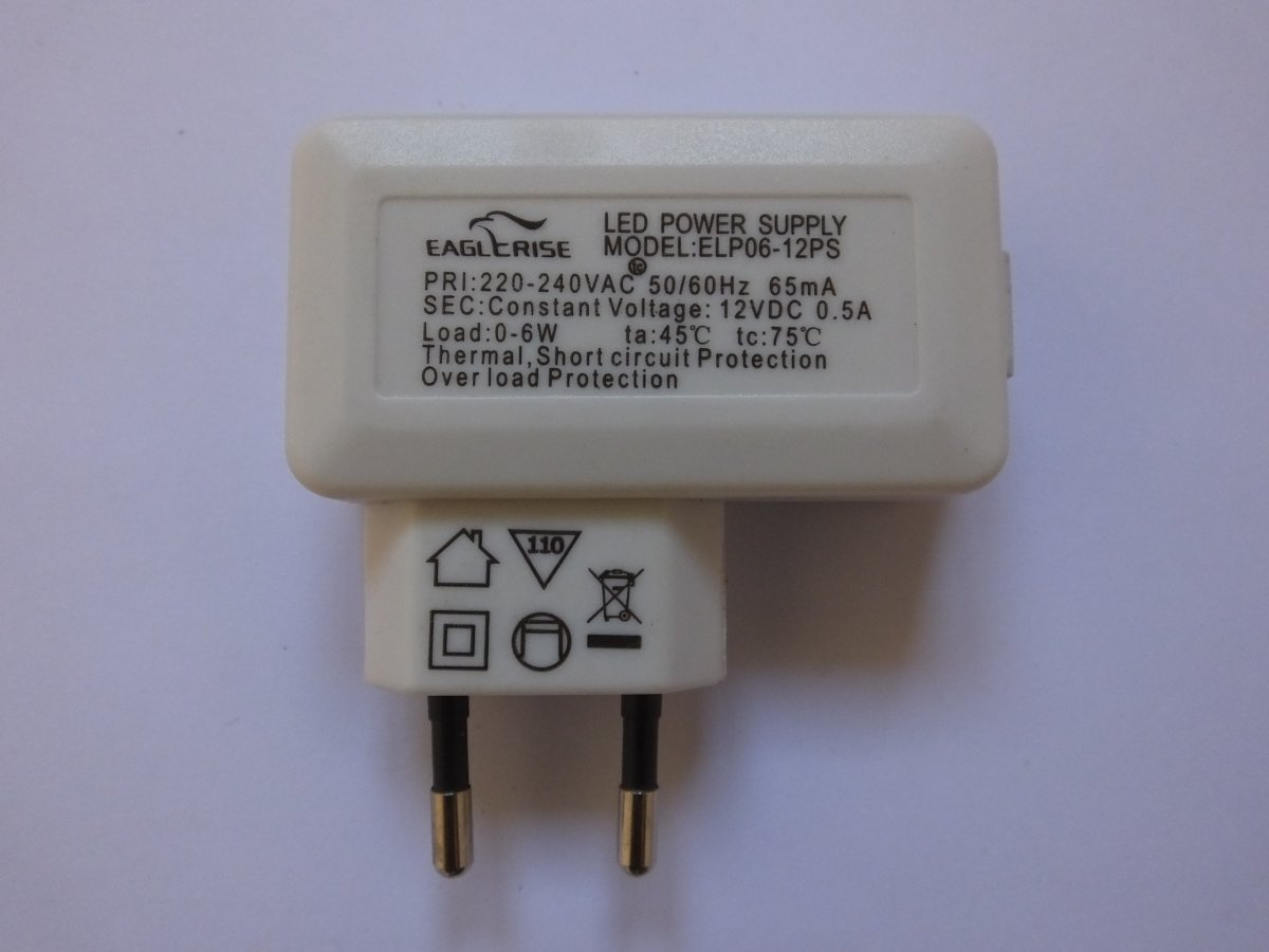 EAGLERISE ELP06-12PS PLUG IN LED DRIVER