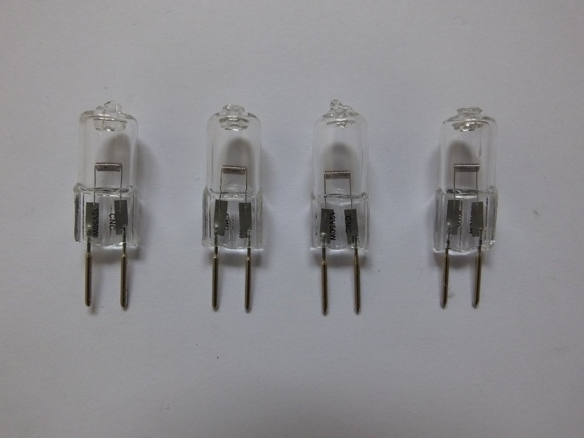 G6.35 50w 12v HALOGEN CAPSULE BULBS