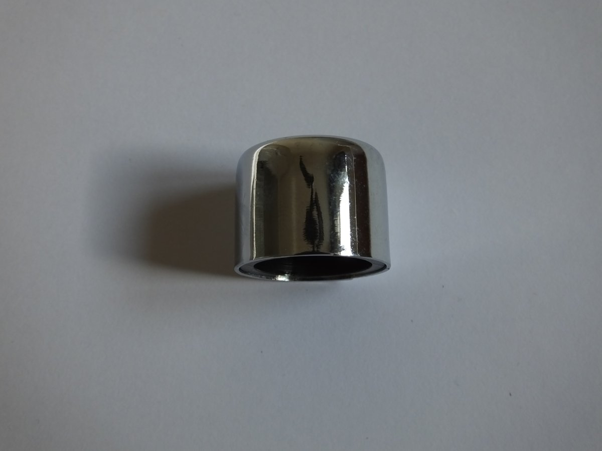 WALL DIMMER REPLACEMENT KNOB - CHROME