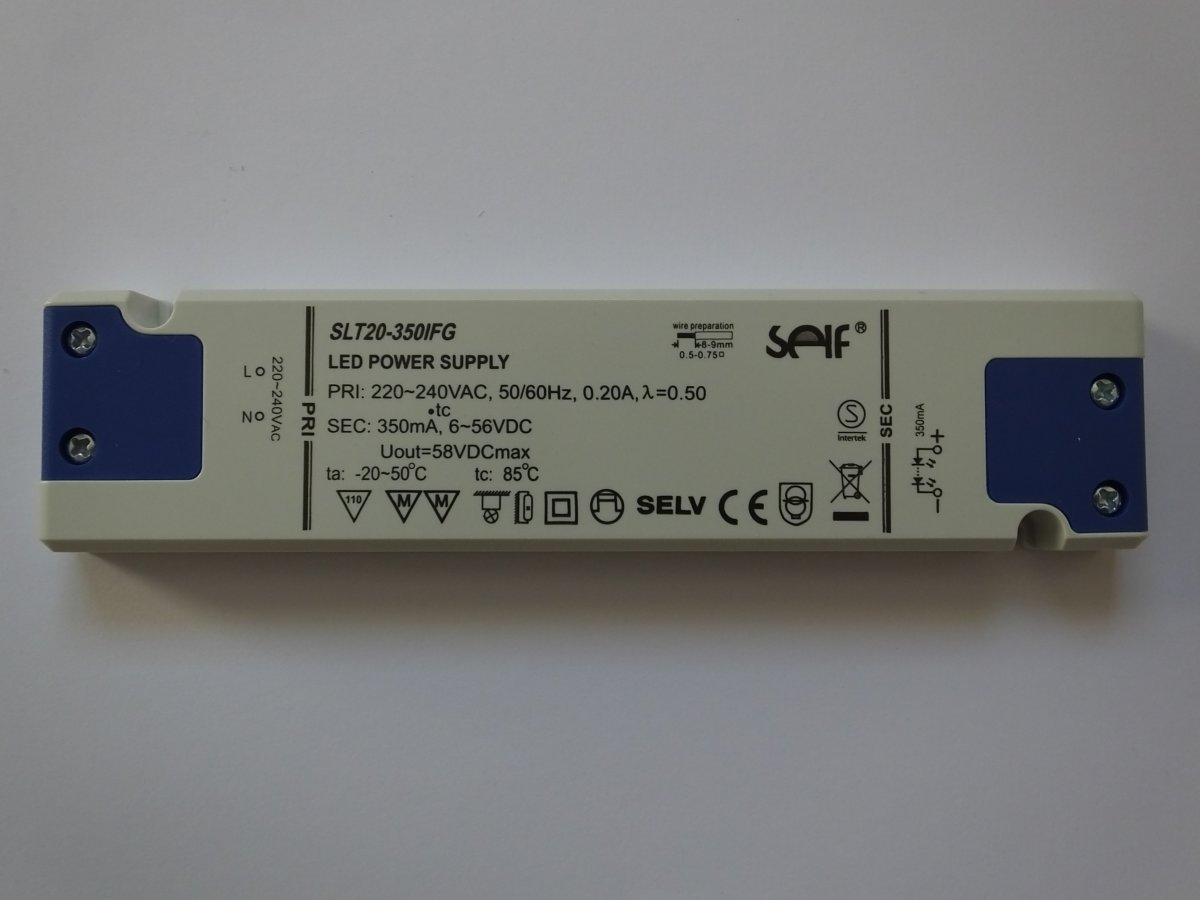 SELF SLT20-350IFG CONSTANT CURRENT LED DRIVER
