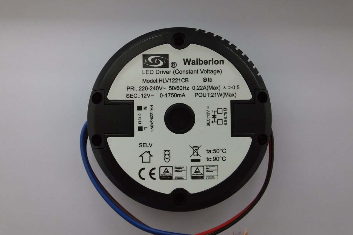 HUIBOLONG HLV1221CB 21w CONSTANT VOLTAGE LED DRIVER