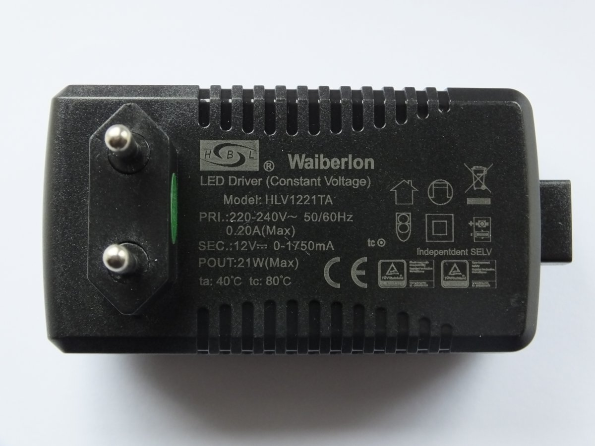 EAGLERISE EIP015V0120US 12v 15w LED DRIVER TENSION CONSTANT
