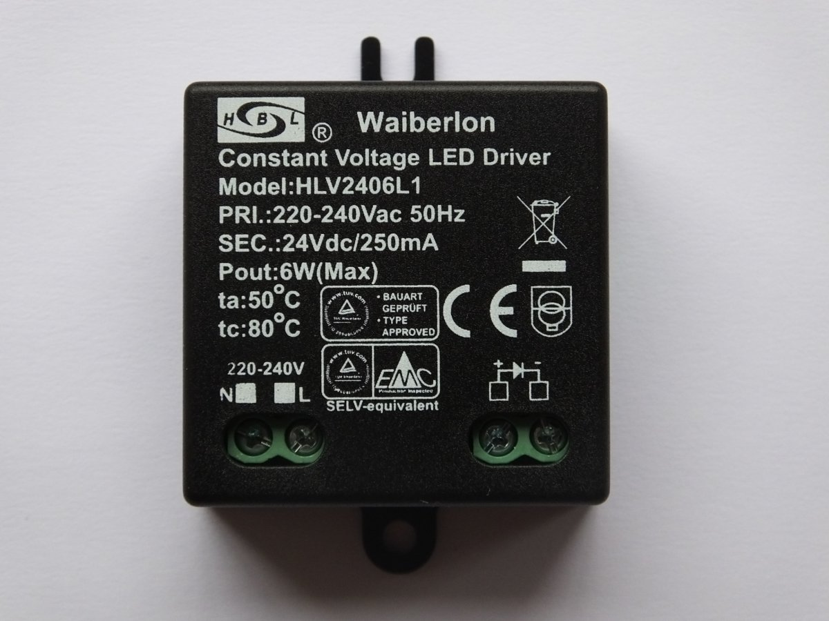WAIBERLON HLV2406L1 CONSTANT VOLTAGE LED DRIVER