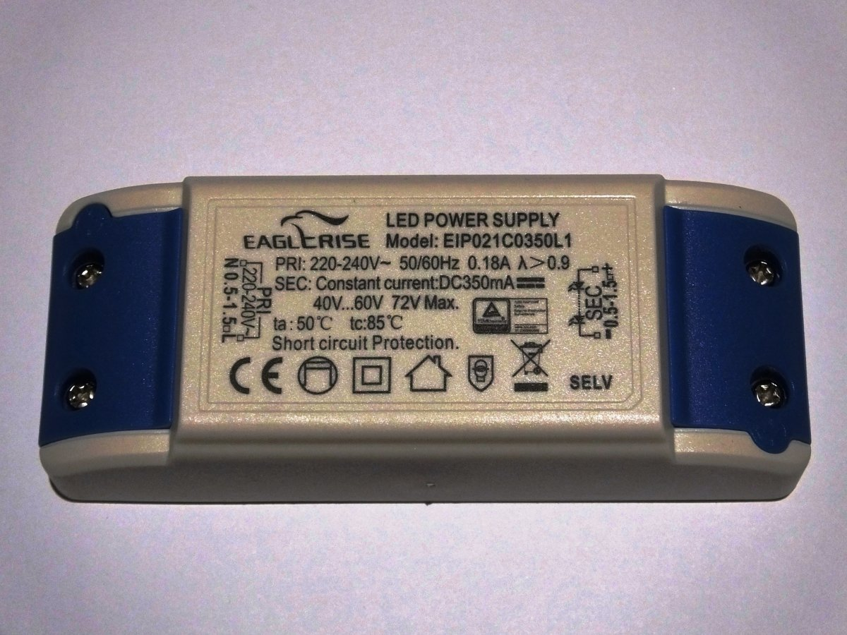 EAGLERISE EIP021C0350L1 21w LED DRIVER CONSTANT CURRENT