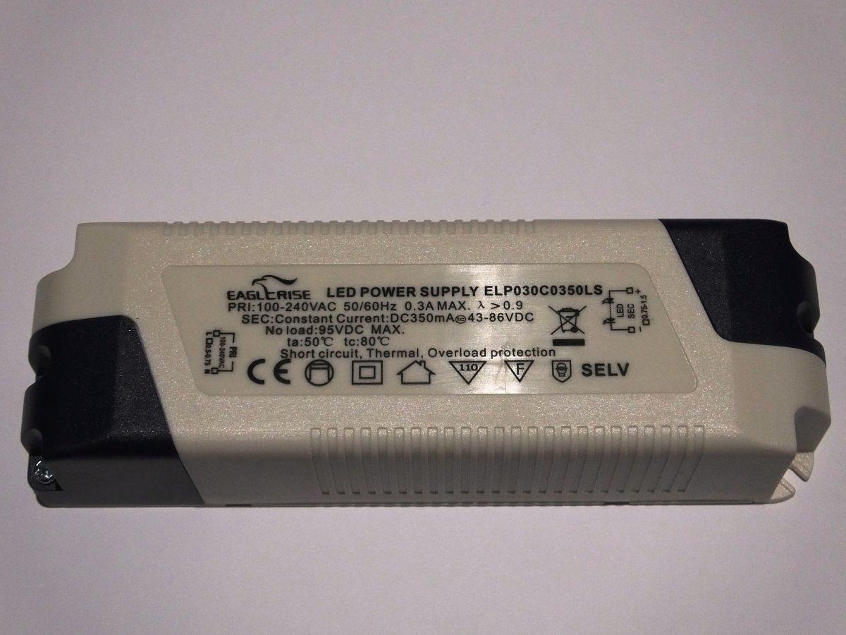 EAGLERISE ELP030C0350LS 30w LED DRIVER CONSTANT CURRENT