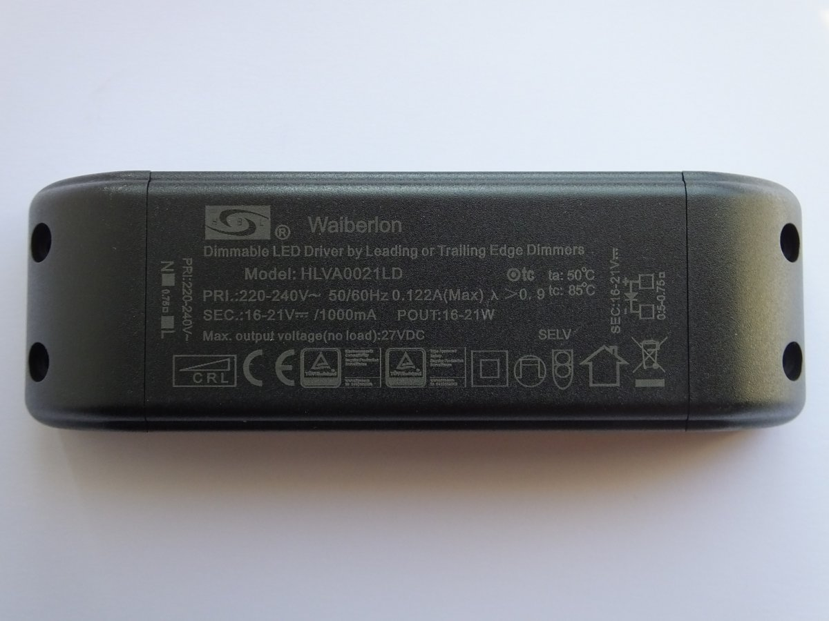 WAIBERLON HLV3008CS CONSTANT CURRENT LED DRIVER