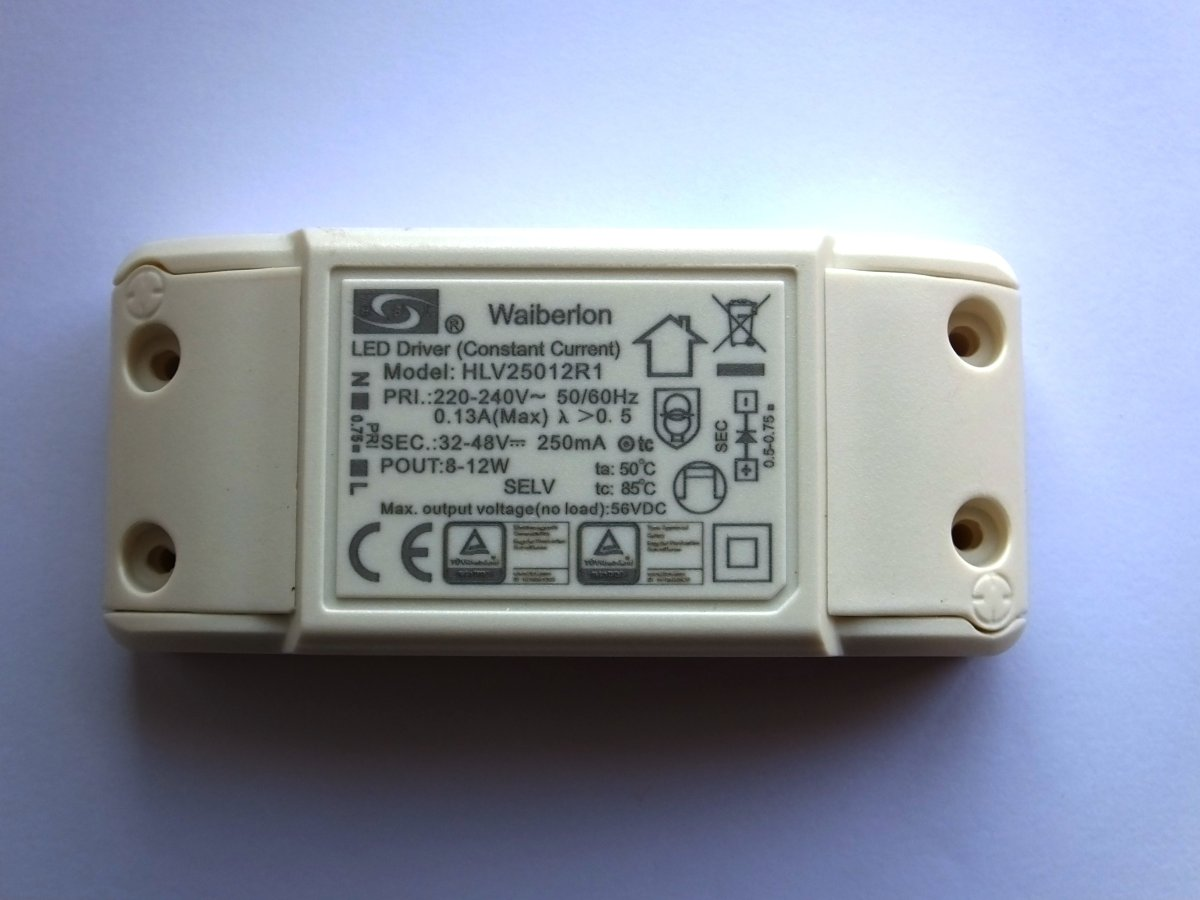 NINGBO ET105-1 ELECTRONIC TRANSFORMER (NEW)