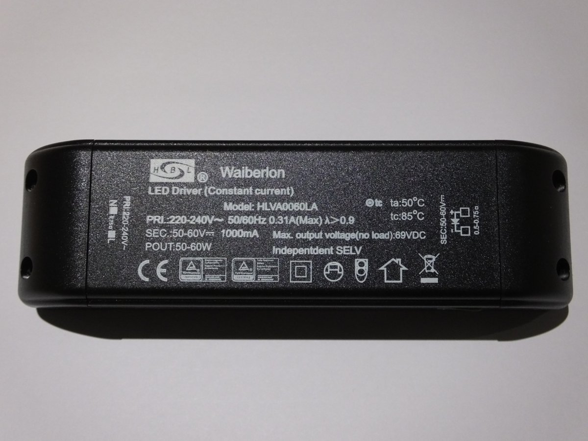HUIBOLONG HLVF0060LA CONSTANT CURRENT LED DRIVER