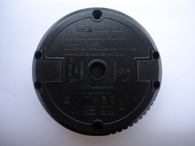 HUIBOLONG HTV105C1 ELECTRONIC TRANSFORMER