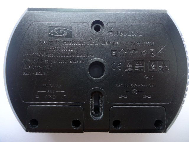 HUIBOLONG HTV160C1 ELECTRONIC TRANSFORMER