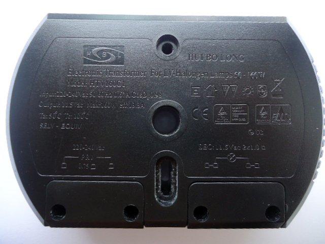 HUIBOLONG HTV160C1 ELECTRONIC TRANSFORMER