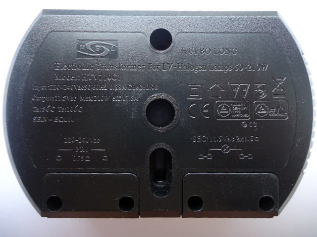 HUIBOLONG HTV210C1 ELECTRONIC TRANSFORMER