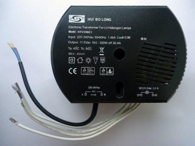 HUIBOLONG HTV350C1 ELECTRONIC TRANSFORMER