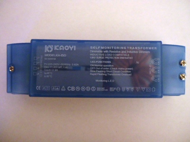 KAOYI KA-150 SELF MONITORING ELECTRONIC TRANSFORMER