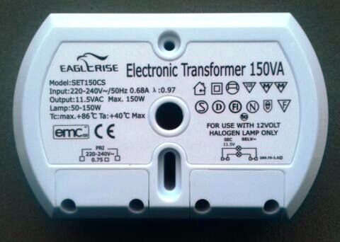 EAGLERISE SET150CS ELECTRONIC TRANSFORMER (2 OUTPUTS)