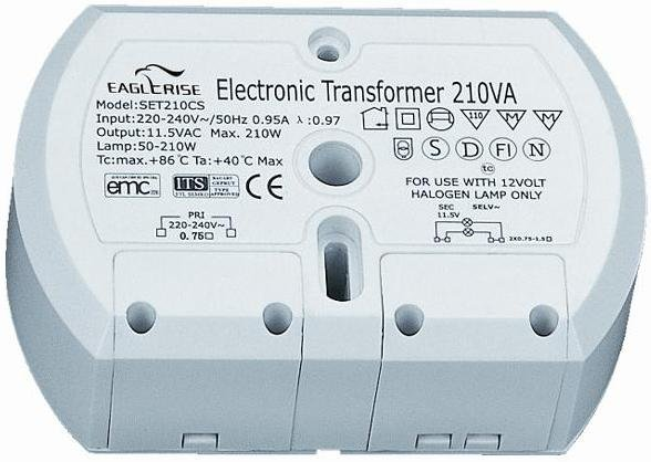 EAGLERISE EET210CK / SET210CS ELECTRONIC TRANSFORMER (2 OUTPUTS)